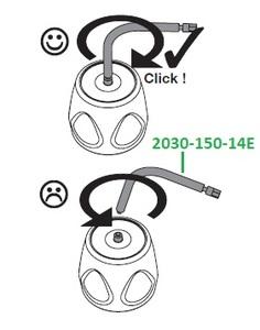 Контрольное приспособление для проверки динамометрического ключа, уп. 3 шт 2030-150-14E фото