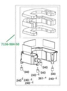 Шумогаситель в сборе VS600/VS900/VS1200 фото