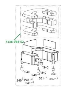 Комплект шумопоглощающих уплотнителей VS600/VS900/VS1200 фото