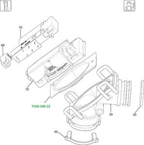 Мембрана к клапану выбора отсасывающей системы VS600, VS900 фото