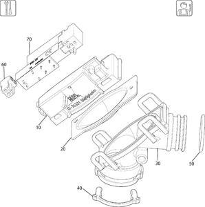 Клапан выбора отсасывающей системы VS600/VS900/VS1200 7560-500-60 фото