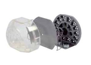 Кювета зуботехническая для изготовления съемных протезов в комплекте CASTDON-FLASK, tyre S clear-trasparent фото