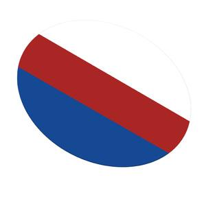 DRUFOSOFT - Tricolor пластины для капп 3,0х120 мм, бел/голуб./красн, 3шт. фото