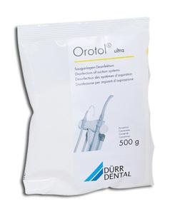 Orotol Ultra порошок для очистки и дезинфекции системы отсасывания фото