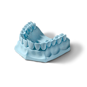 Гипс стоматологический Profilare 100 (синий) фото