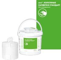 Базовый набор 1 ведро повторного использования и рулон с безворсовыми сухими салфетками